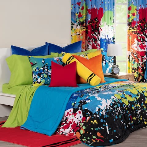 Crayola Twilight Zone Comforter and Shams Set