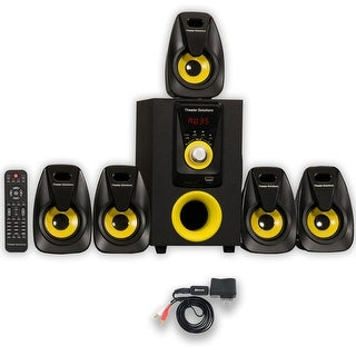 Theater Solutions TS522 Home Theater 5.1 Speaker System Powered with Bluetooth