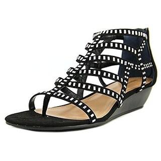 Style & Co Bradey Women Black Sandals US