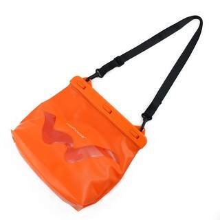 Wellhouse Authorized Travelling Hiking Swimming PVC Dry Bag Pouch Pack Orange L