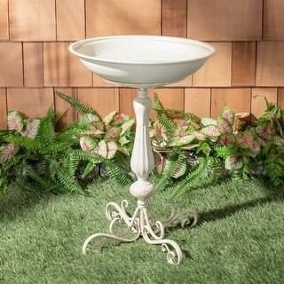 Link to Safavieh Outdoor Living Orian Bird Bath Similar Items in Bird Feeders & Birdbaths