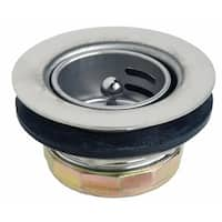 """Danco 86805 Duo Basket Strainer Assembly, Stainless Steel, 2-13/16"""""""
