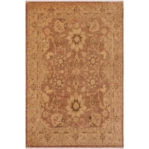 """Shabby Chic Ziegler Kristyn Hand Knotted Area Rug -9'0"""" x 12'1"""" - 9 ft. 0 in. X 12 ft. 1 in."""