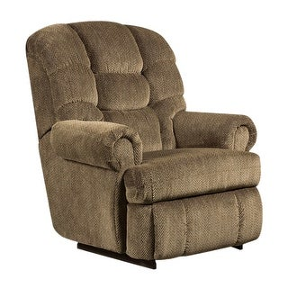 Offex Big And Tall Gazette Basil Microfiber Recliner [OF-AM-9930-7980-GG]