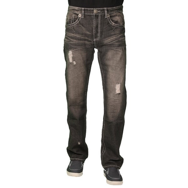 Parish Nation Young Men's Black Fashion Jeans