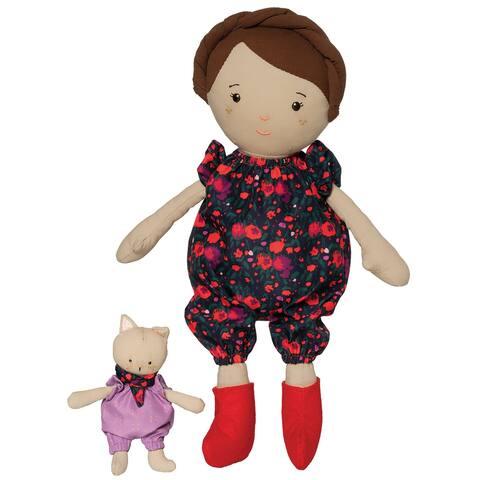 Freddie 14 Inch Doll with Companion Stuffed Animal