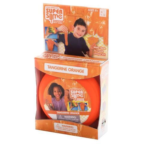 Tangerine Orange Super Slime