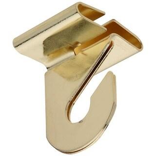 National Hardware N249-672 V156 Suspended Ceiling Hooks, Brass