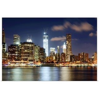 Poster Print entitled Freedom tower, NYC - multi-color