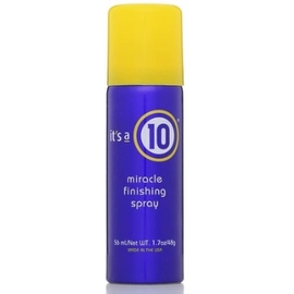 it's a 10 Miracle Finishing Spray, 1.7 oz