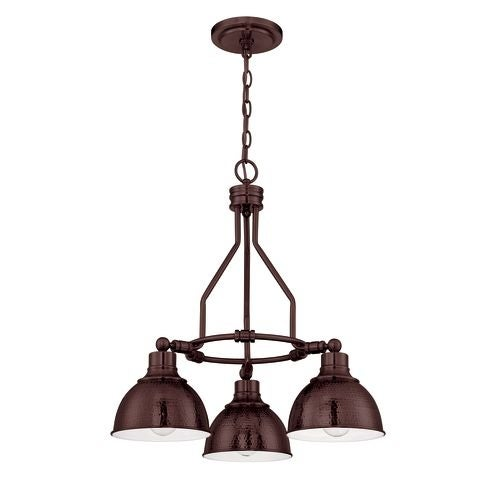 Jeremiah Lighting 35923 Timarron Single Tier 3 Light Chandelier - 22 Inches Wide