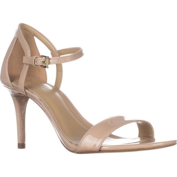 MICHAEL Michael Kors Simone Mid Sandal Ankle Strap Sandals, Light Blush