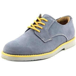 Florsheim Kearny Jr Youth Round Toe Suede Gray Loafer