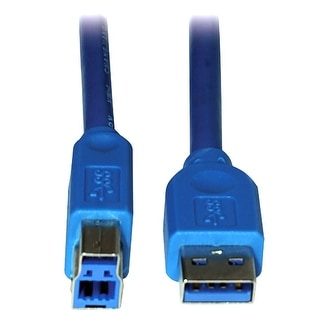 Link to Tripp Lite U322-006 6ft USB 3.0 SuperSpeed Device Cable 5 Gbps A Male to B Male 6 Foot Similar Items in Cables & Connectors