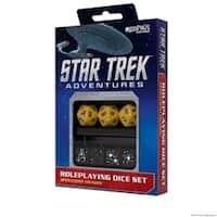 Star Trek Adventures Dice, Gold - Set of 7