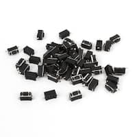 Unique Bargains 55 Pieces PCB Momentary Push Tactile Switch SMD 3mmx6mmx4.3mm