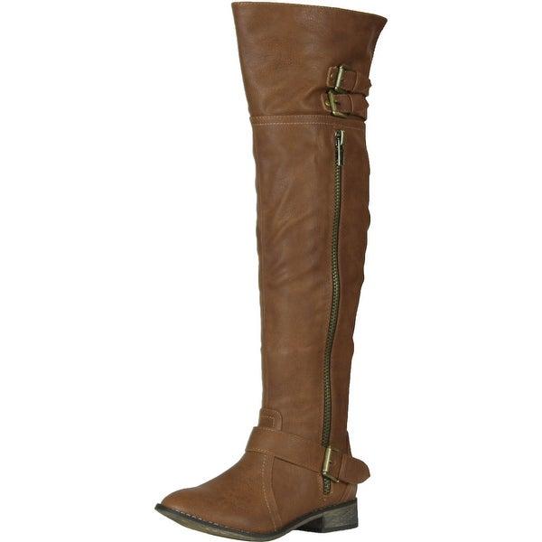 Breckelles Women's Clayton-14 Boots - Tan