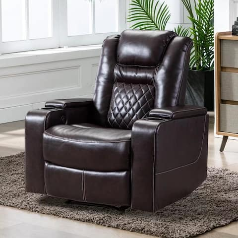 Electric Power Recliner Home Theater Seating