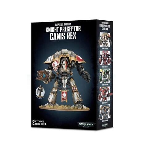 Games Workshop Warhammer 40,000 Knight Preceptor Canis Rex Miniature