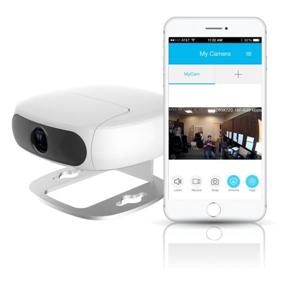 Pyle TofuCam Wireless IP Camera / WiFi Cam, Hi-Res Full HD 1080p Recording, Safety Security Motion Detection, Time Lapse