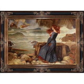 John William Waterhouse 'Miranda - The Tempest' Hand Painted Oil Reproduction