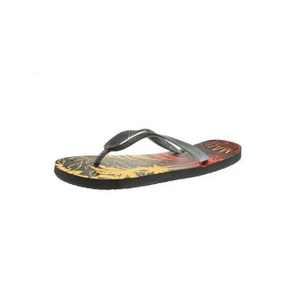 Maui and Sons Mens Flip-Flops Graphic Slide
