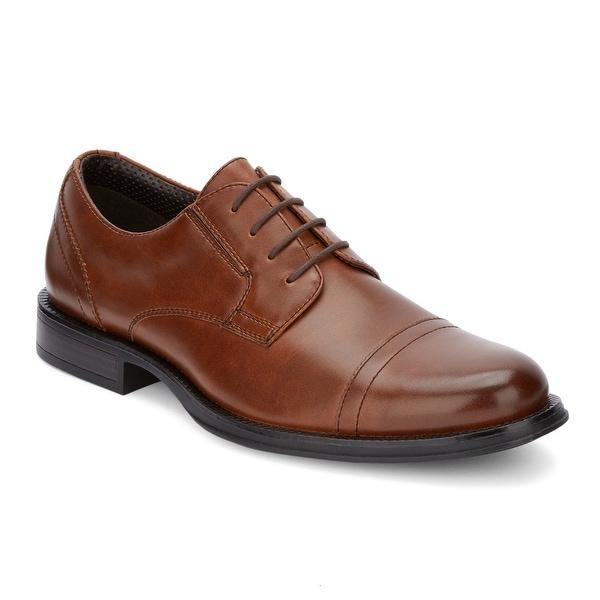 Dockers Mens Garfield Dress Cap Toe Oxford Shoe