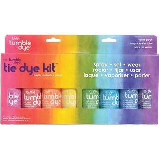 Tumble Dye Craft & Fabric Tie-Dye Kit 2Oz 8/Pkg
