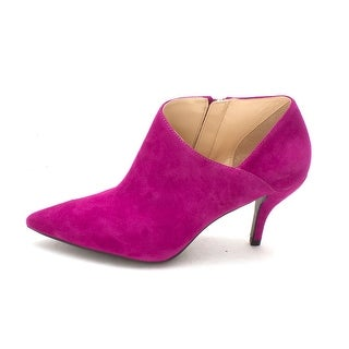 GUESS Womens Glori Leather Pointed Toe Classic Pumps