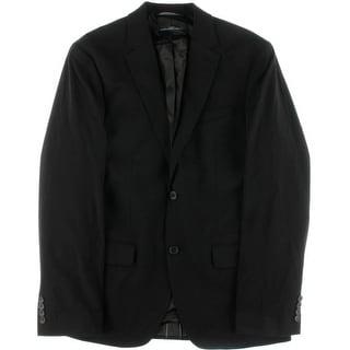 Perry Ellis Mens Wrinkle Resistant Slim Fit Two-Button Suit Jacket