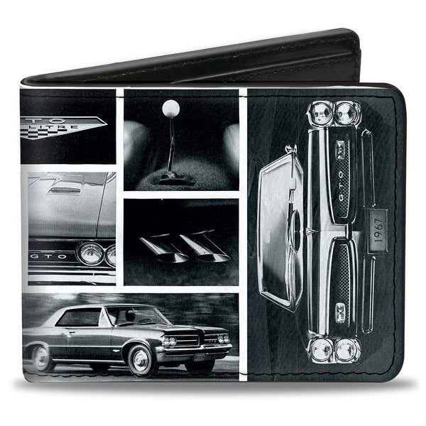 1967 Pontiac Gto Snapshots White Grays Bi Fold Wallet - One Size Fits most