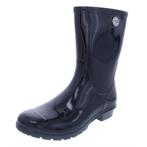 Ugg Womens Sienna Rain Boots Rubber Mid-Calf