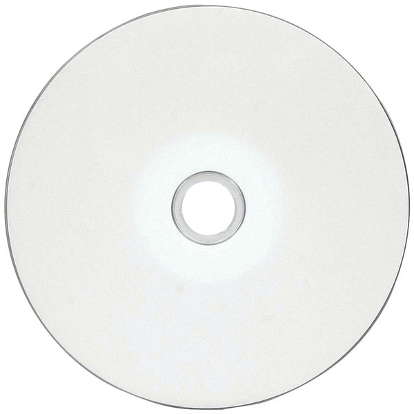 Verbatim 97019 80-Minute/700Mb 52X Datalifeplus(R) White Inkjet Hub Printable Cd-Rs, Wrapped 100 Pk
