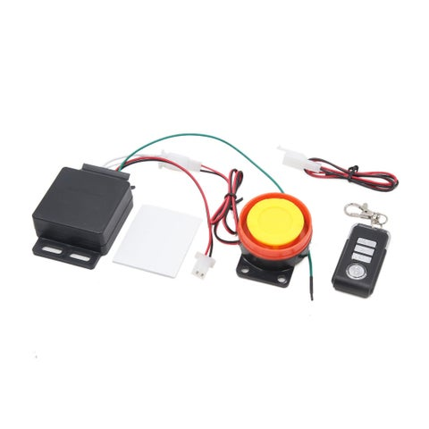 9-16V 315MHz Motorcycle Remote Control Anti-theft Alarm Security System Set