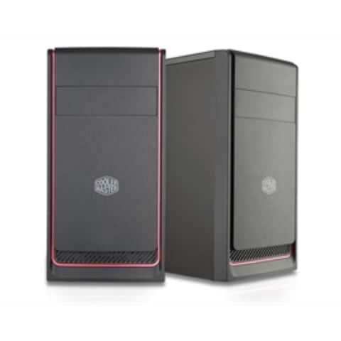 CoolerMaster Case MCB-E300L-KN5N-B00 MasterBox E300L (Red Trim) MiniTower mATX Retail