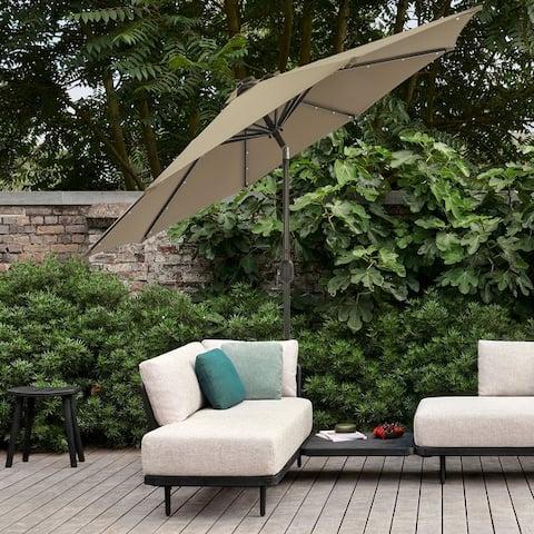 Bonosuki 9ft Solar Patio Umbrella
