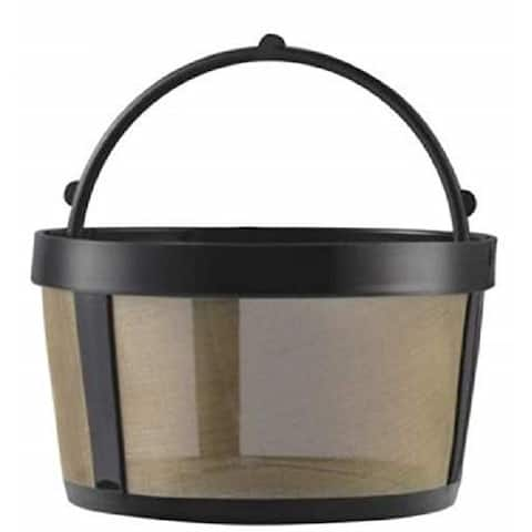 GoldTone Reusable 4 Cup Basket Style Filter for Mr. Coffee - Replacement Permanent Filter for Mr Coffee - Mesh Bottom (1 Pack)
