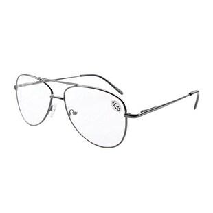 Eyekepper Spring Hinges Polycarbonate Lens Pilot BiFocal Glasses Readers +3.5