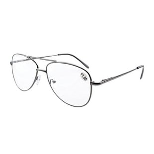 591c26ad2a Shop Eyekepper Spring Hinges Polycarbonate Lens Pilot BiFocal Reading  Glasses +1.0 - Free Shipping On Orders Over  45 - Overstock.com - 15947112