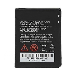 Battery for ZTE LI3710T42P3H483757 (Single Pack) Cell Phone Battery