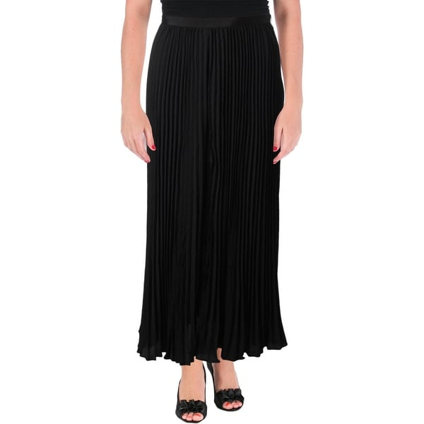 c305b5dee9 Shop French Connection Womens Maxi Skirt Crepe Pleated - Free ...