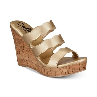 Link to Callisto Womens Flure Open Toe Casual Platform Sandals Similar Items in Women's Shoes