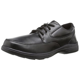 Hush Puppies Boys Ty Leather Toddler Derby Shoes - 10