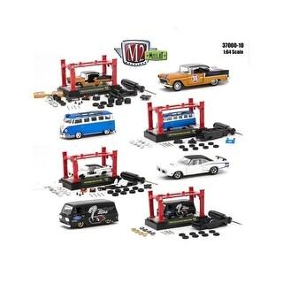 Model Kit Set Release 10 Diecast Model Cars for 1-64 Scale, 4
