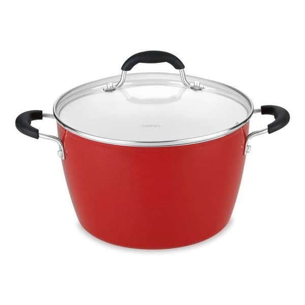 Shop Cuisinart 5944 24r Elements Stockpot With Cover 6 Quart Overstock 23148487