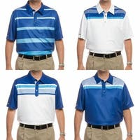 Ashworth Men's British Open Collection Golf Polo Shirts (Assorted 4 Pack - Small)