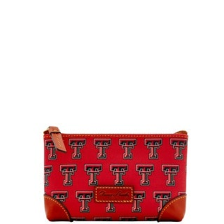 Dooney & Bourke NCAA Texas Tech Cosmetic Case (Introduced by Dooney & Bourke at $48 in Dec 2015) - Rouge