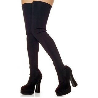 Electra-3000 Thigh High Boots
