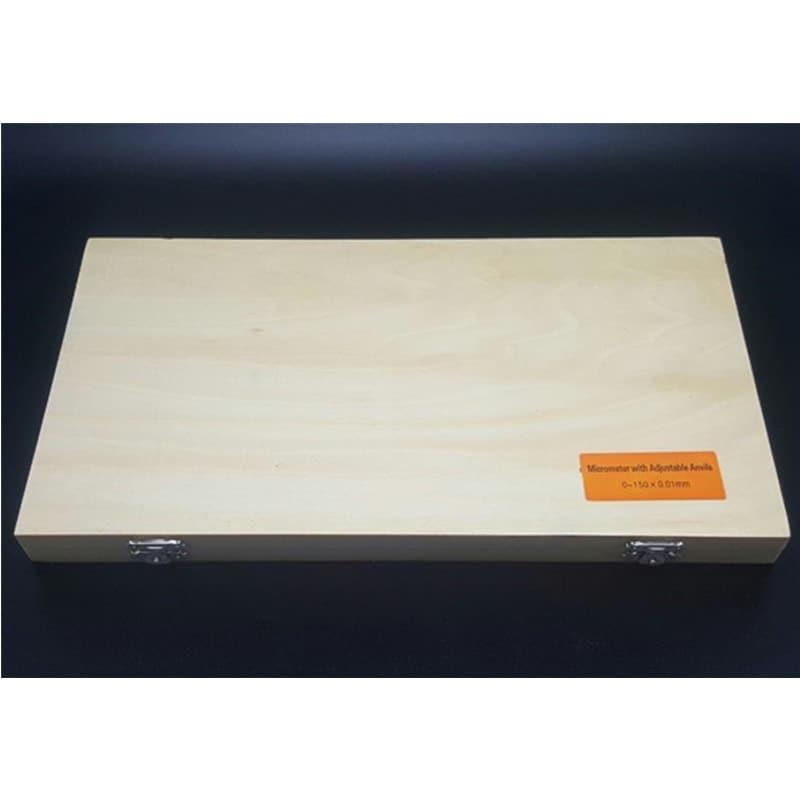 4Pcs 0-100mm 0.01mm Outdoor Micrometer Metric Set Precision Carbide