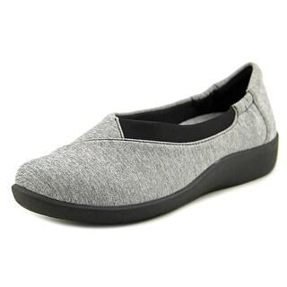 Clarks Sillian Jetay  W Round Toe Canvas  Loafer
